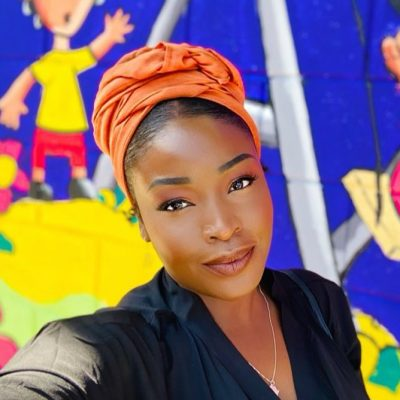 Burnt Orange Solid Headwrap Kaji